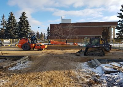 Alberta Infrastructure, Court House, Parking Design & Construction Administration